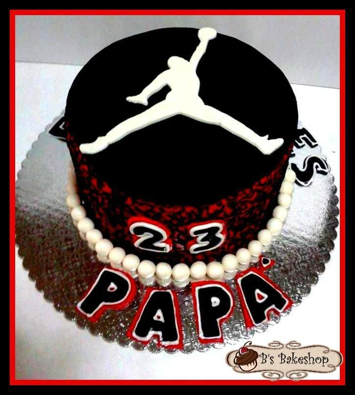 michael jordan cake Things I love Pinterest Michael jordan