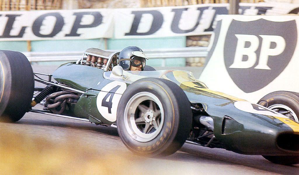 Jim Clark at Monaco, 1966