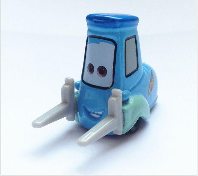 Pixar Cars Guido Diecast Metalen Speelgoed Auto Voor Kinderen Gift 1:55 Losse Nieuwe Voorraad & Gratis Verzending