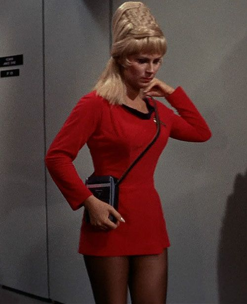 Yeoman Rand From The Original Seriesgotta Love The Hair 60s