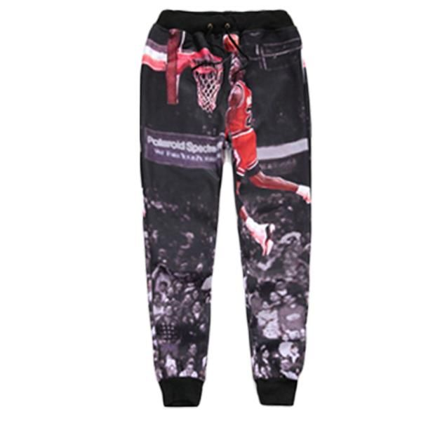 bb6e974153 2018 Jordan/Galaxy/Skull/Space Casual Joggers Pants 3d Printed Sweatpants  For Men/Women Full Length Trousers Workout Sweat Pants