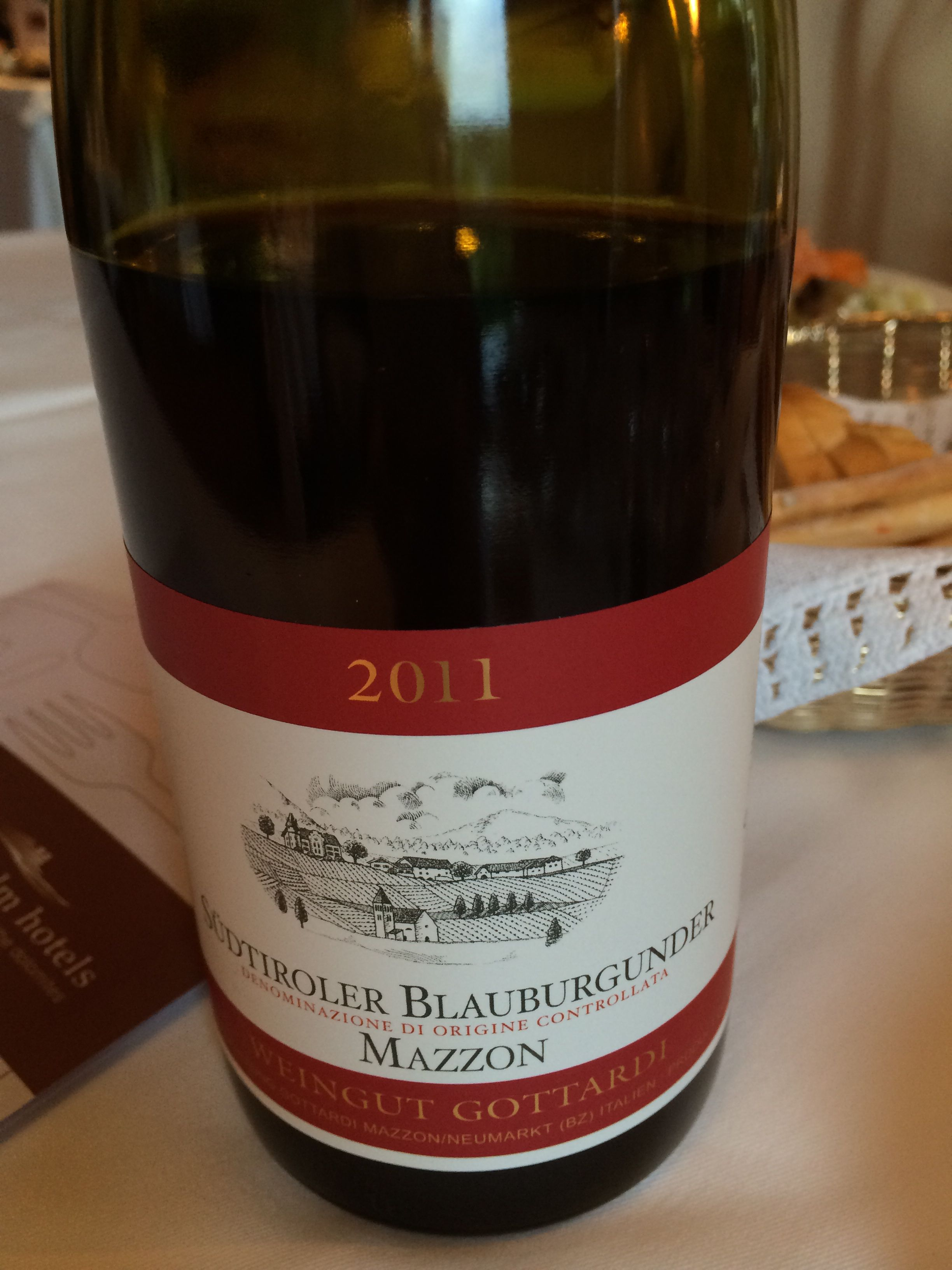 Pinot Nero Sud Tyrol Wine Bottle Wine Selection Drinks
