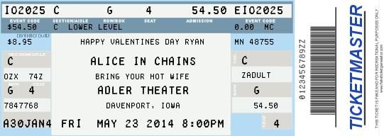 create your own ticket i made this for a concert i wanted to