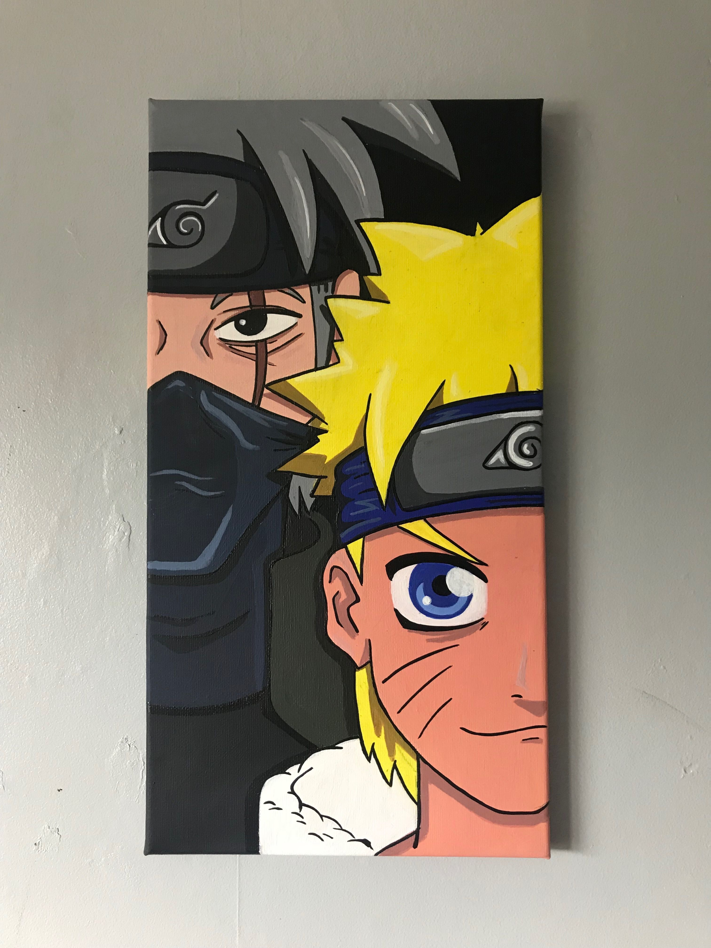 Naruto Canvas Anime Canvas Art Anime Canvas Anime Canvas Painting