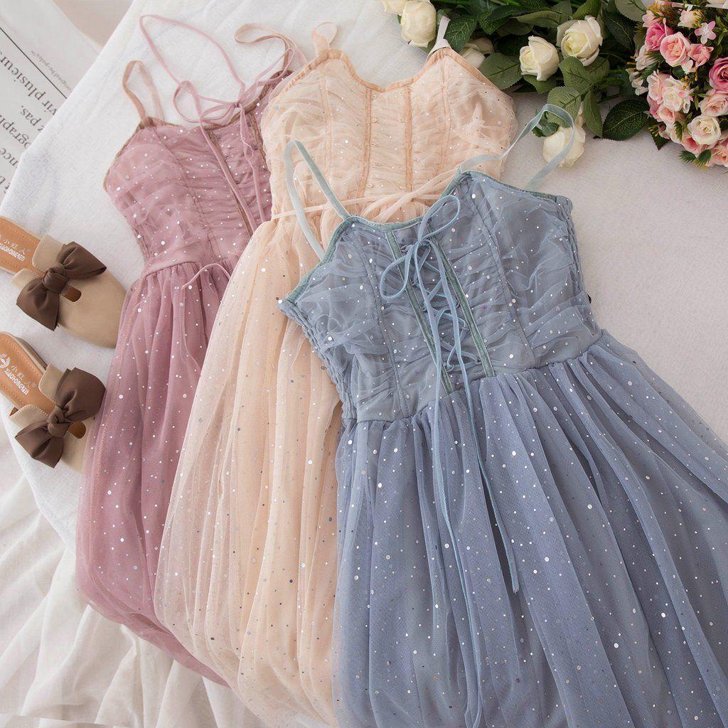 Pandora Sparkle Dreamy Tulle Sequin Fairy Dress