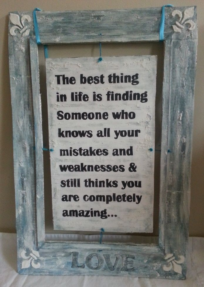 Inspiration Love Quote For Wedding DIY Rustic Cardboard Frame Unique Love Quote Picture Frames