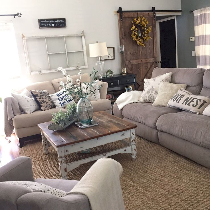 GLO SKIN BEAUTY Chic Living Room Rustic Chic And Living Rooms - Rustic chic living room