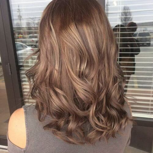 Brown Hair With Lowlights Brown Hair Shades Light Hair Color Brunette Hair Color