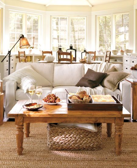 Ideas Pottery Barn Living Room On Upiki