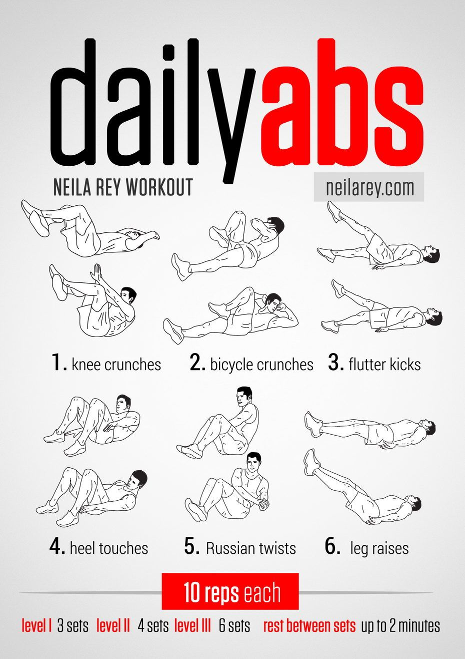 collection of free visual workouts by neila rey get fit