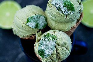Lody Mojito Moje Wypieki Frozen Treats Recipes Mint Ice Cream Frozen Desserts