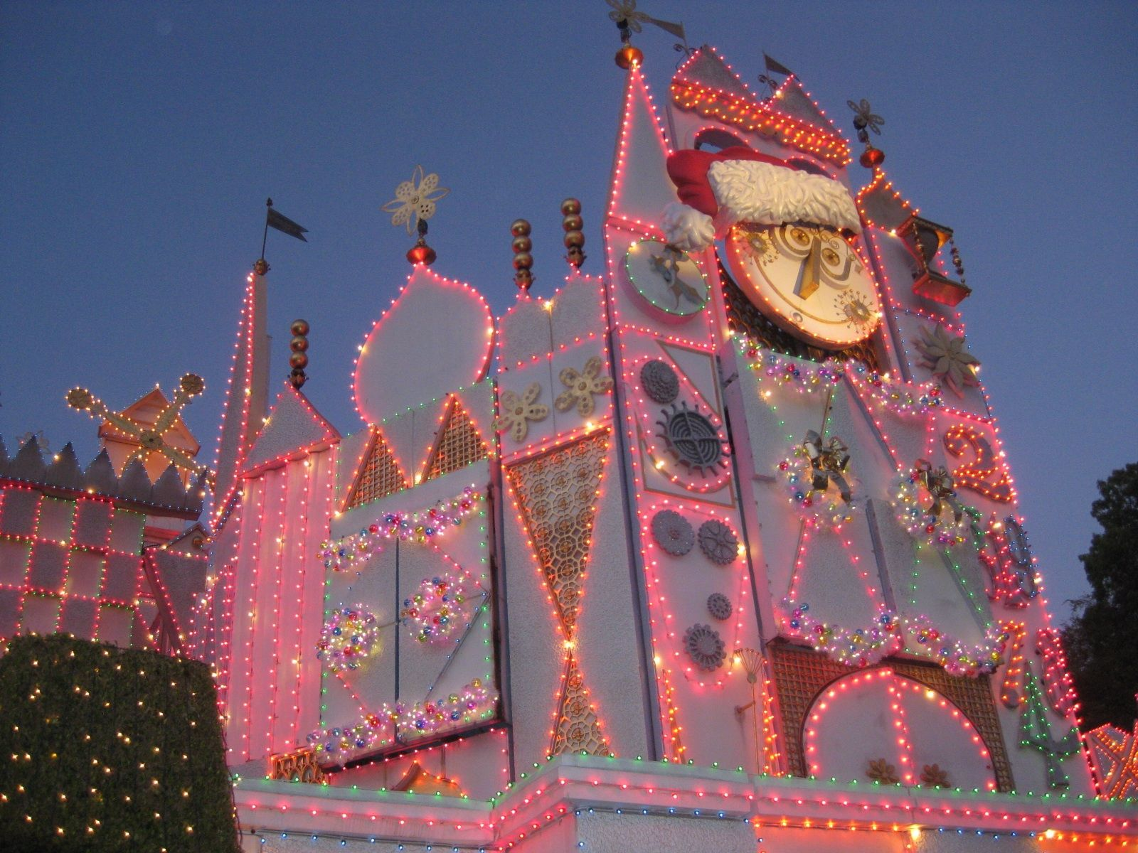 It S A Small World Christmas At Disneyland Disneyland Christmas Disney Christmas Disney World Fl