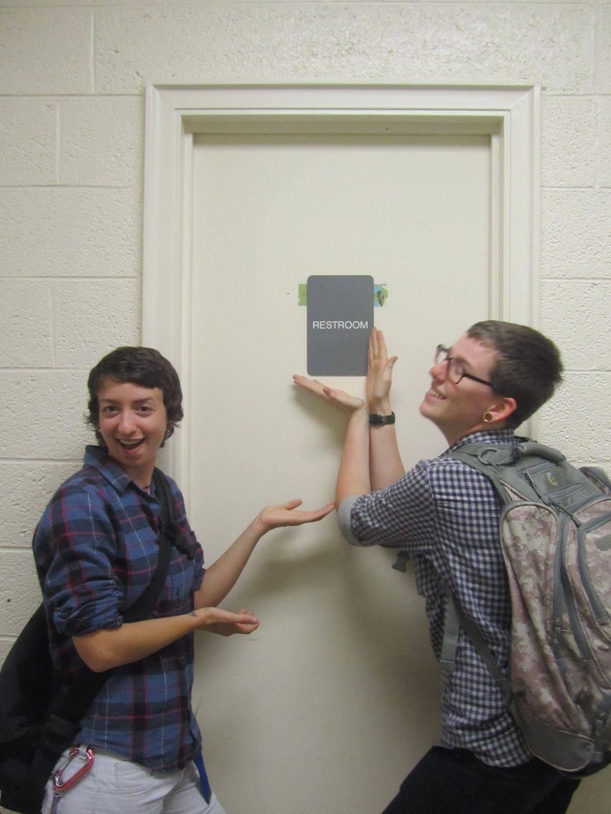 Bathroom Door Gender Google Search Genderfree Pee Pots - All gender bathroom sign for bathroom decor ideas