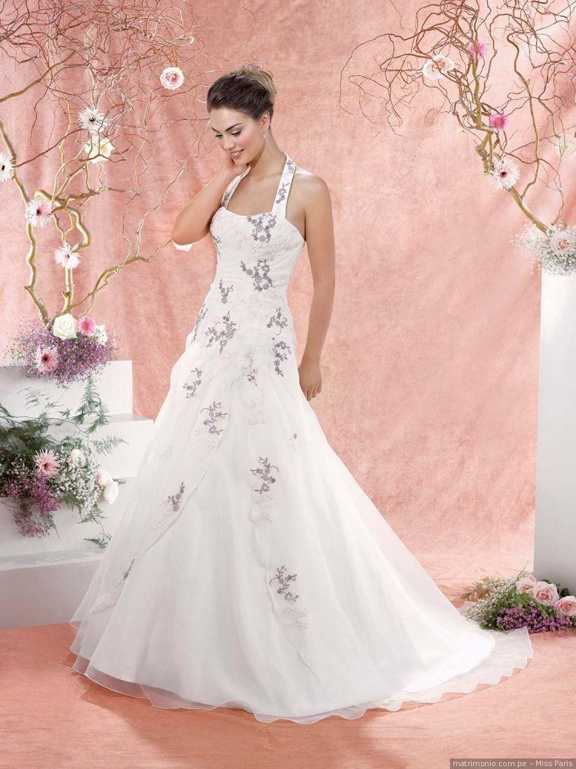 Vestidos de novia escote halter 2018: sensuales y muy sofisticados ...