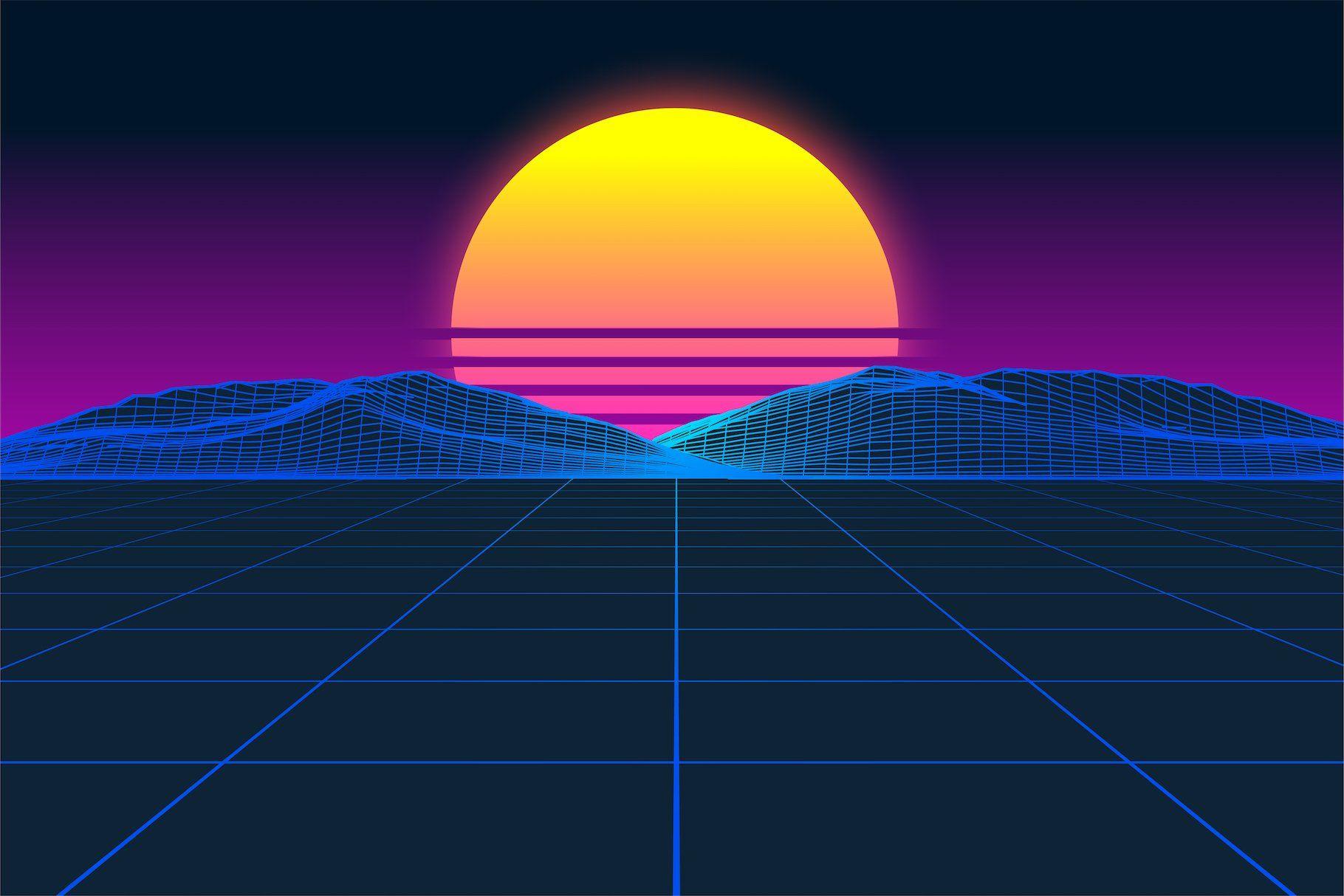 Retrofuturism Otf Vaporwave Font Vaporwave Vaporwave Music Photoshop Wallpapers