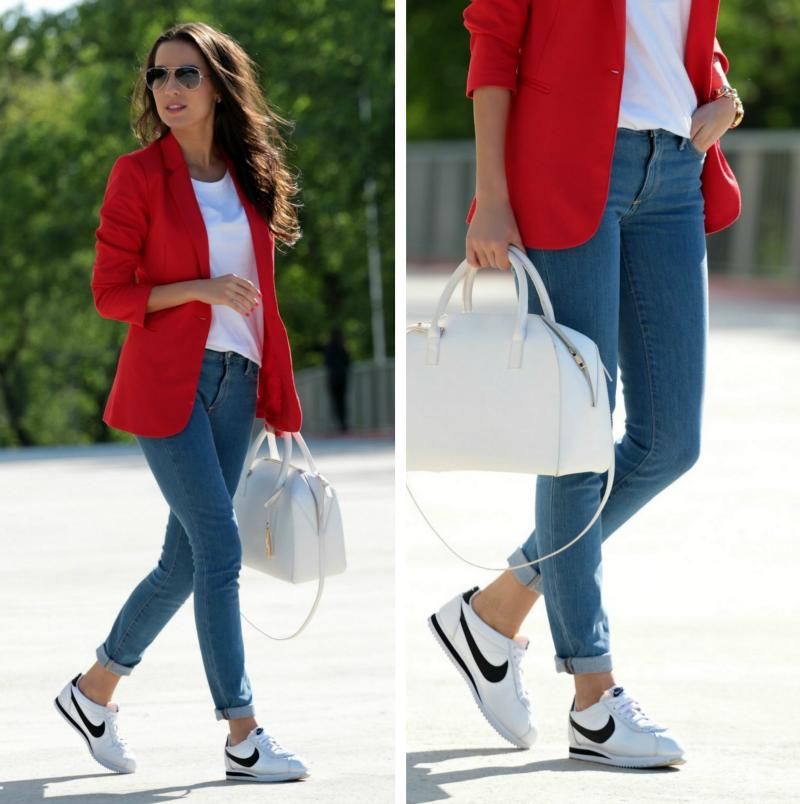 Nike Cortez Blancas Outfit