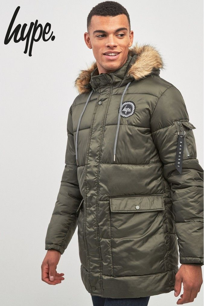 large discount super quality affordable price Mens Hype. Explora Padded Jacket - Green   Products in 2019 ...