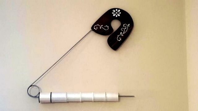 Pin by Rhonda\'s Unique Sewing Room Decor on My giant safety pins ...