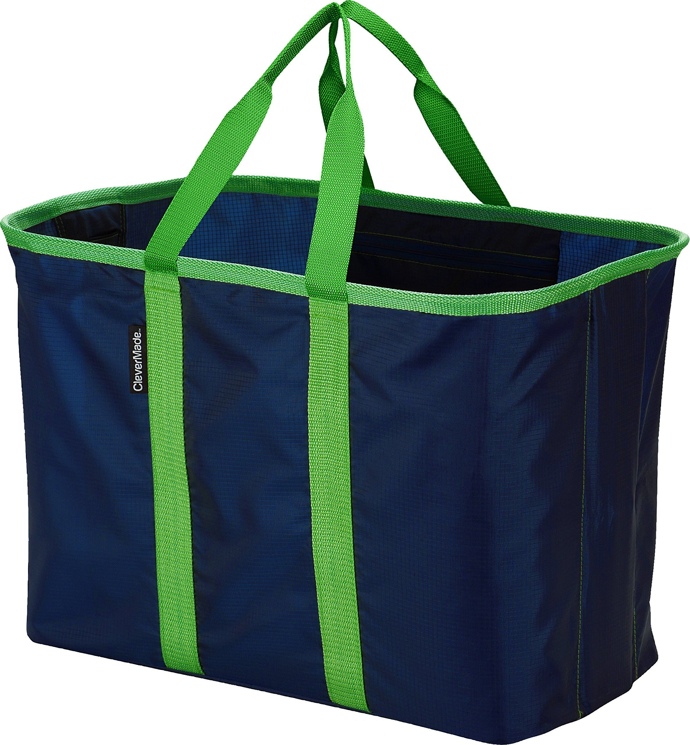 Clevermade Snapbasket Xl 40 Liter Reusable Tote Bag With