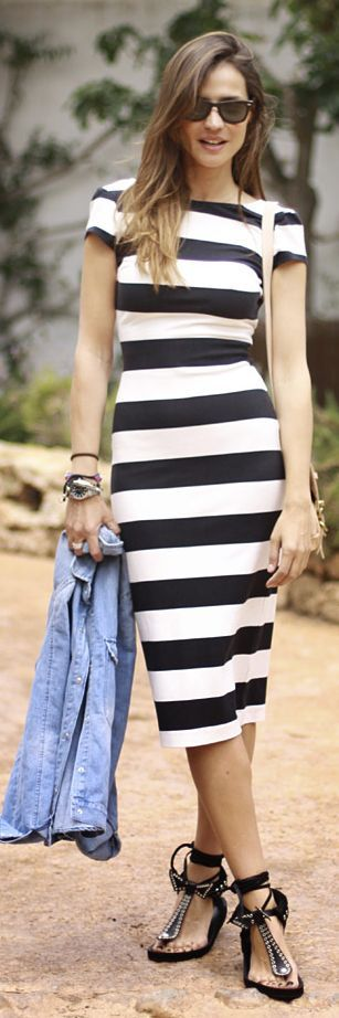 How to Wear Stripes This Spring | Fashion | Fashion, Black ...