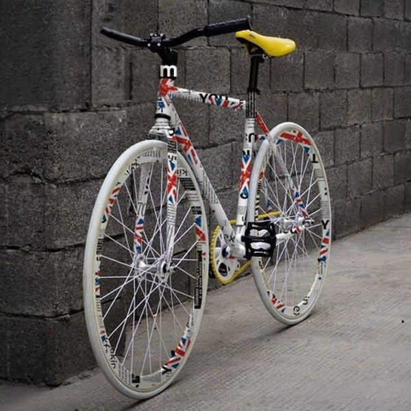 Cool Bike Paint Job Bicycle Art Recycled Bmx Bikes Bicycle