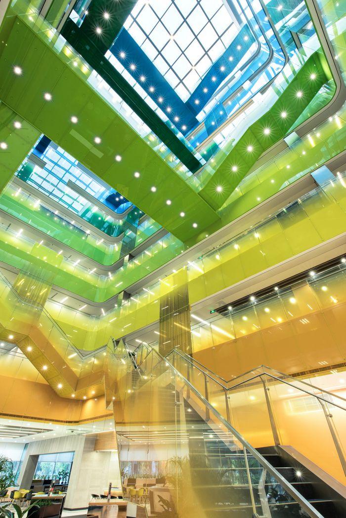 office tour microsoft offices suzhou atriums pinterest