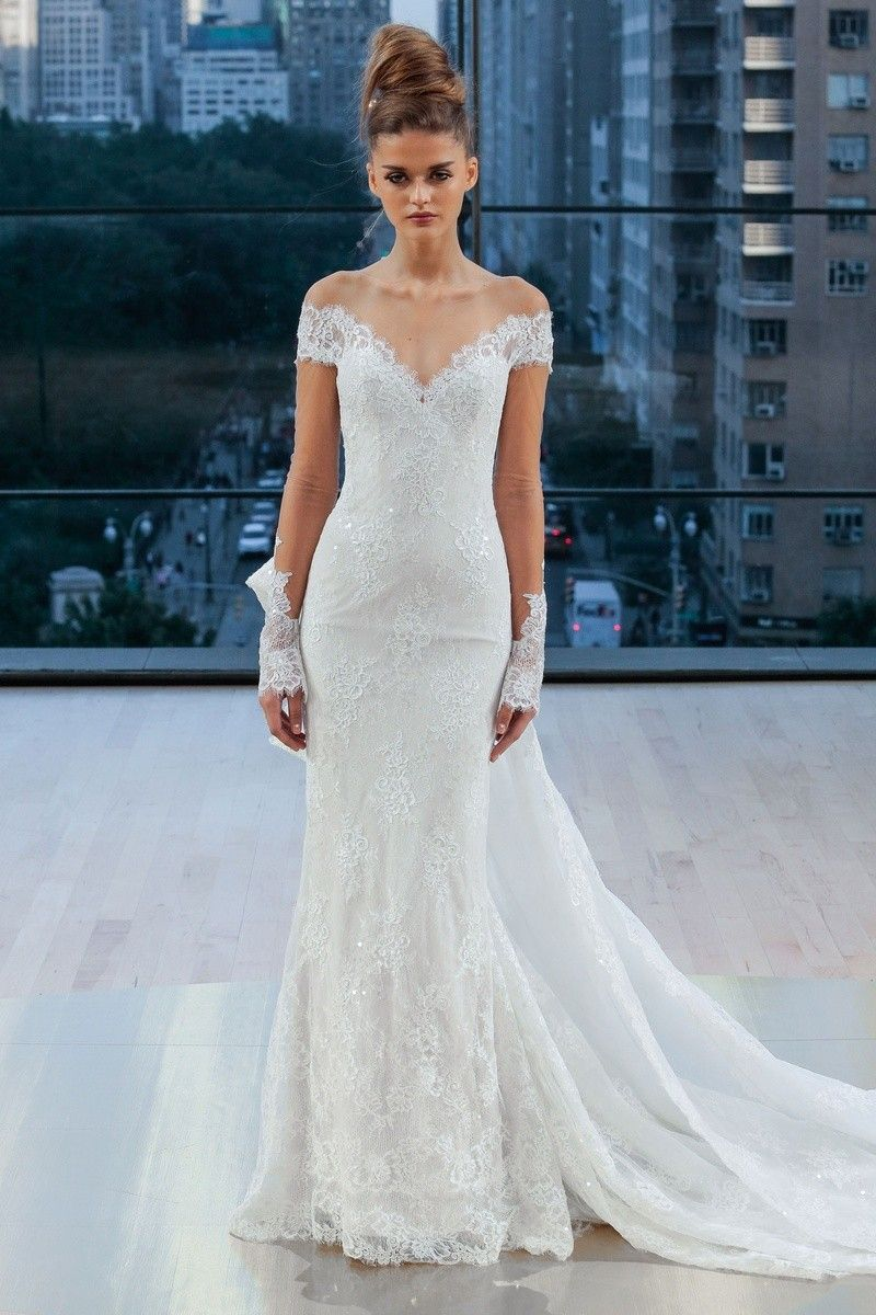 Bad wedding dresses  Ines di Santo Gramercy  Simple and Sweet in   Pinterest