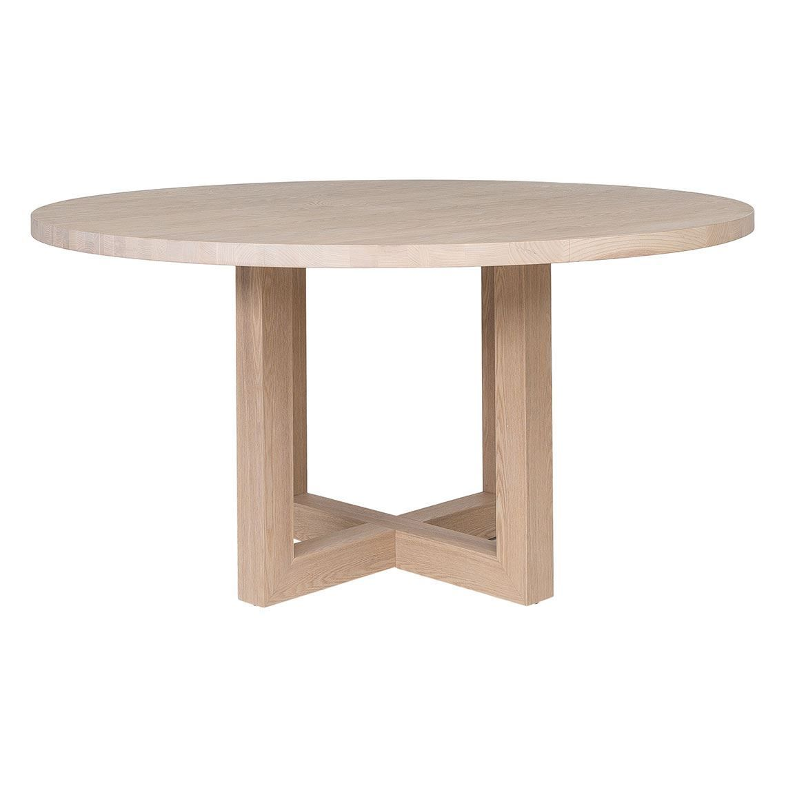 Cove Round Dining Table Size W 150cm X D 150cm X H 76cm In Natural