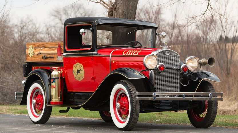 1931 Ford Model A Fire Truck | F201 | Kissimmee 2016 | Mecum Auctions