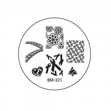 2012 Collections Nail Stamping Plates BM-321 #bundlemonster #shopbm