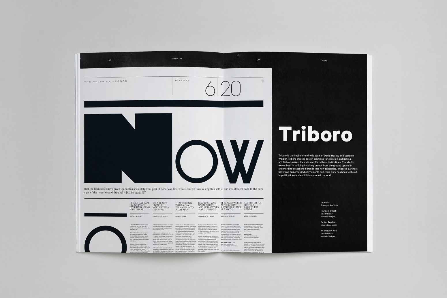 PROCESS 10 06 (With images) Typographic layout