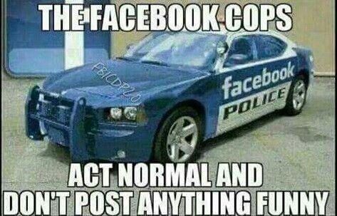 Fb Popo Facebook Police Facebook Humor Funny Friday Memes