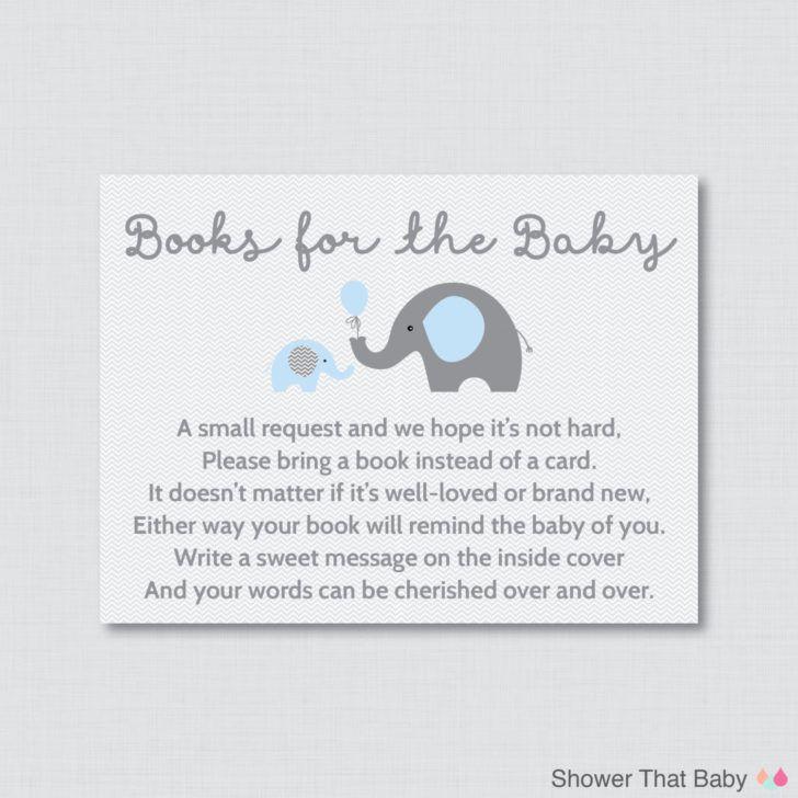 Elephant Baby Shower Invitation Wording Gray Chevron Baby Shower ...