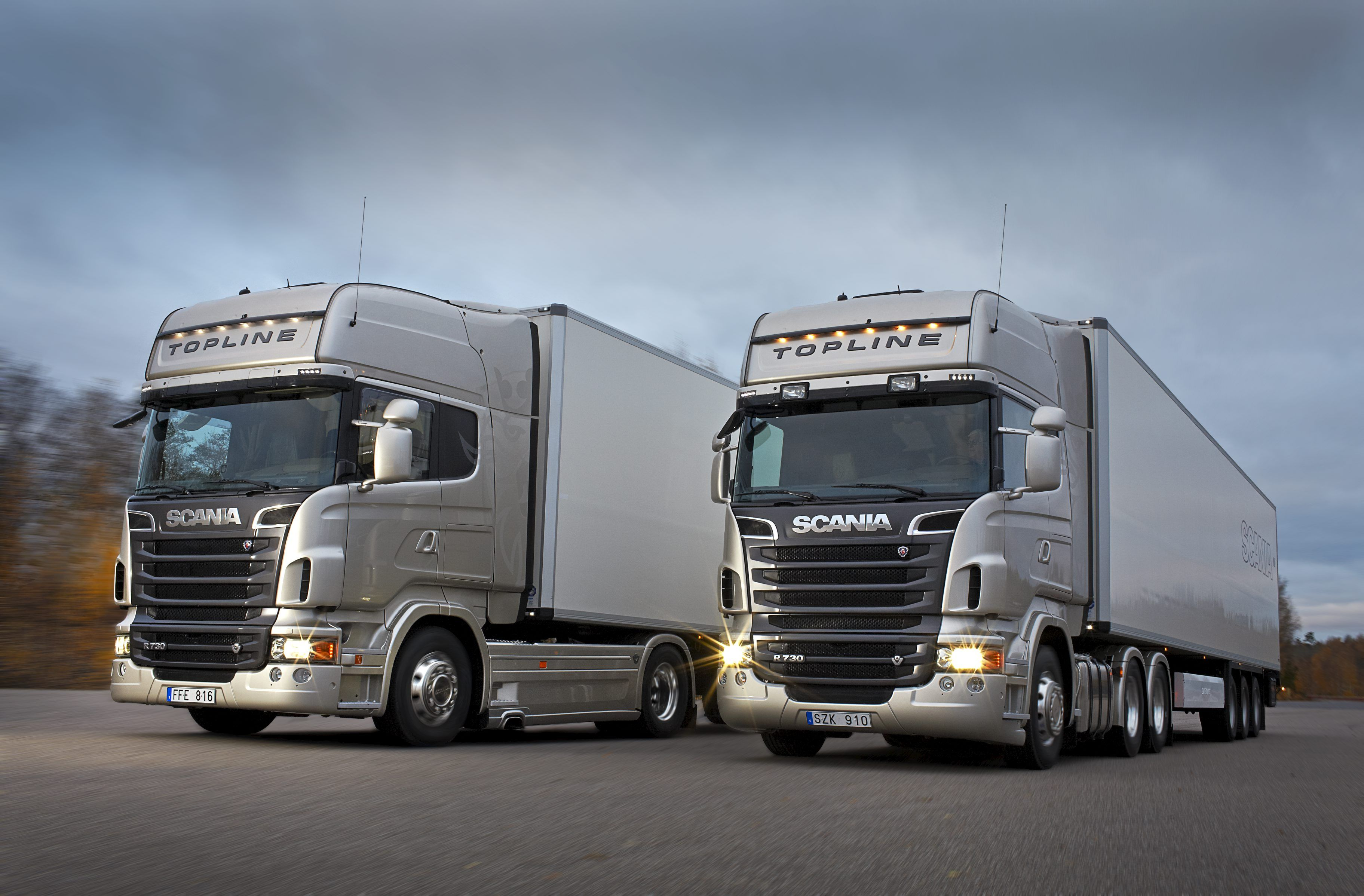 Scania Truck Vehicle Wallpapers HD Desktop and Mobile