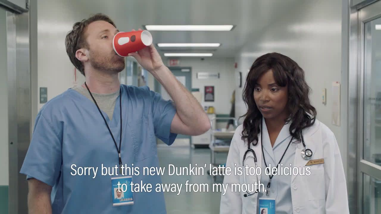 ▷ Dunkin´ Donuts Subtitles Ad Commercial on TV 2018