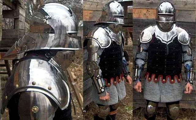 Доспехи средневековья.