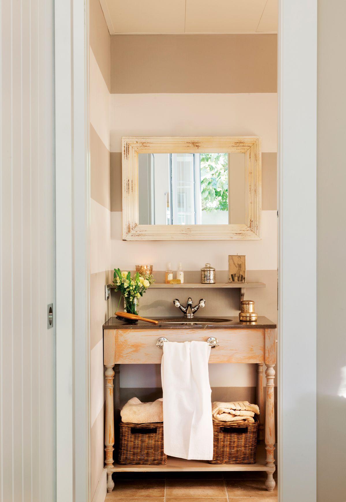 Muebles Bajo Lavabo Rusticos.10 Ideas Geniales Para Banos Reales Bany Muebles Para Banos
