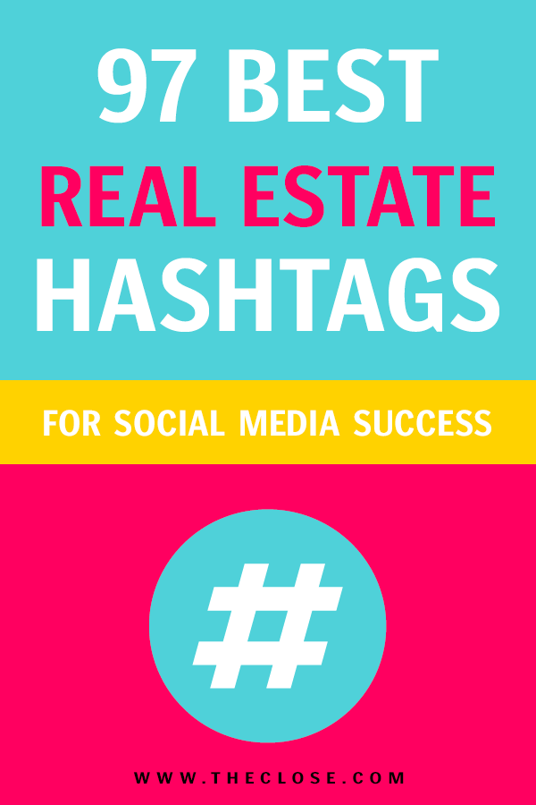 Want to generate more leads via social and build your following? 3x your engagement and follower count with the best real estate hashtags out there. We compiled a list so that you can easily use them for social media success. #hashtags #realestate #realestatehashtags #socialmedia #socialmediamarketing #marketing #digitalmarketing #leadgeneration #realestateagent #creativemarketing #theclose visit www.advertisingteacher.com
