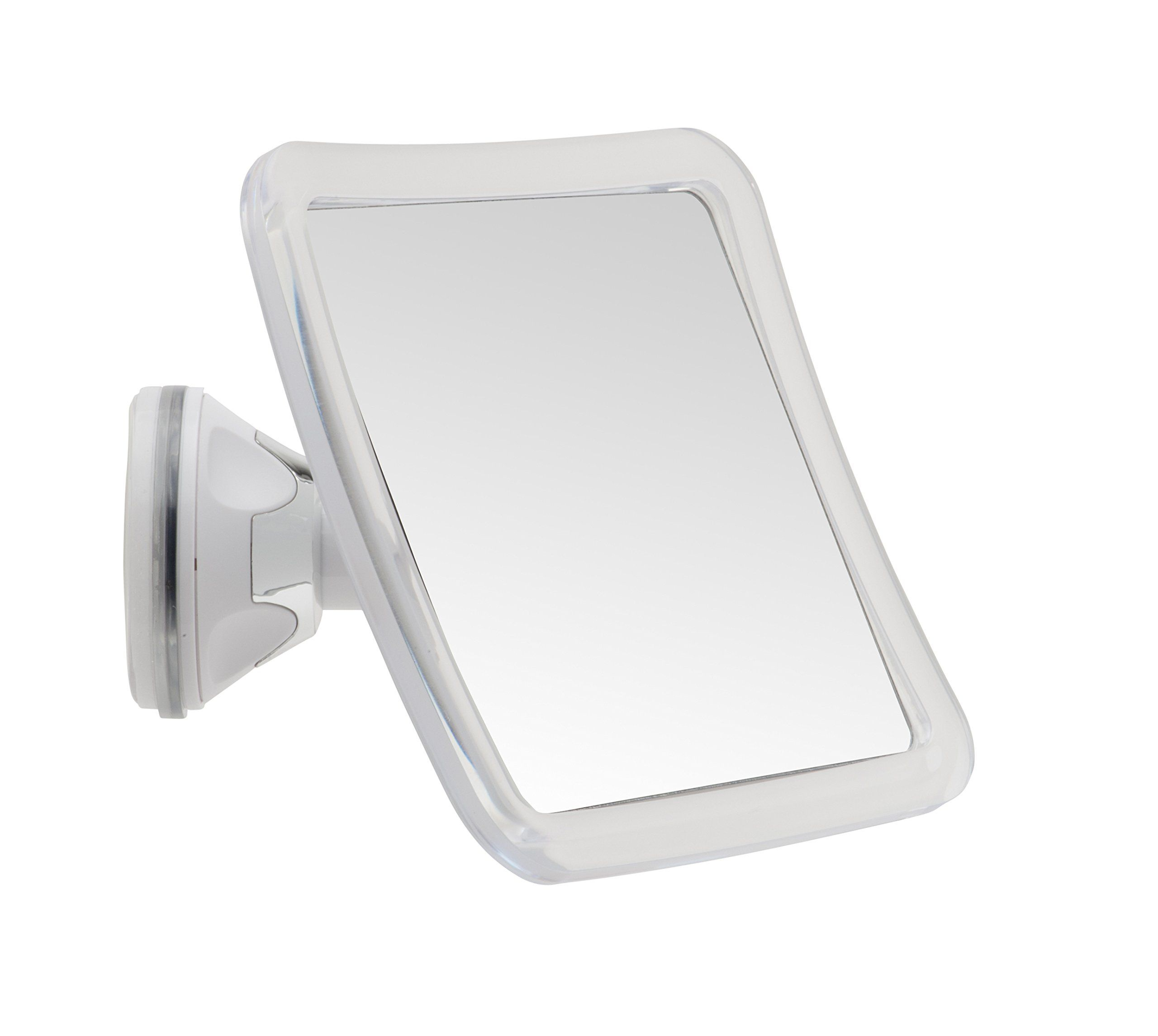 Shower Mirror Home Wall Hanging With Suction For Shaving Fogless Shatterproof