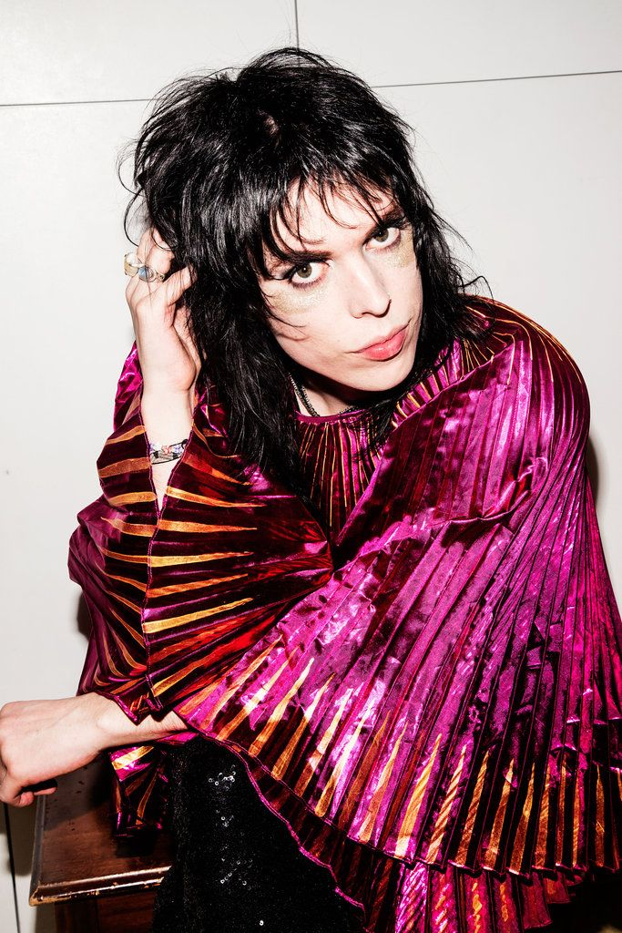 Get the Look Luke Spiller's Glam Rock Makeup (With images