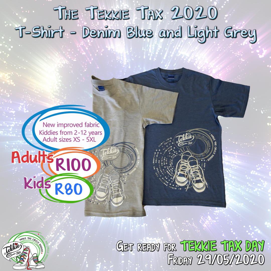 Would You Like To Own Your Very Own Tekkie Tax 2020 T Shirt Simply Visit Our Website Www Tekkietax Org Or Contact Us On 012 In 2020 How To Find Out T Shirt Blue