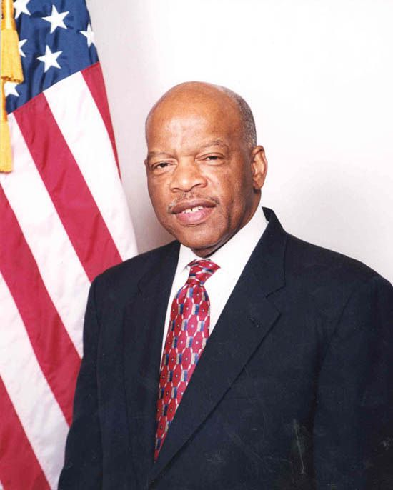 Communist Congressmen John Lewis Leading Inaugural Revolt Congressman John Lewis Is A Leader In The Move To Have T John Lewis Civil Rights Civil Rights Leaders
