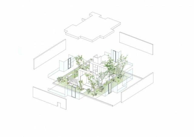 maison avec d coration japonaise originale par ma style architects repr. Black Bedroom Furniture Sets. Home Design Ideas