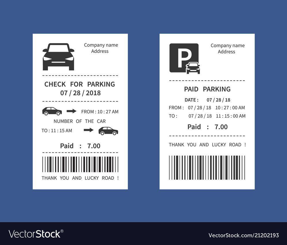 Parking Ticket Money Penalty Receipt Intended For Blank Parking Ticket Template In 2020 Ticket Template Parking Tickets Professional Templates