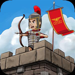 حرب الإمبراطورية روما Grow Empire مهكرة Rome Tower Defense Roman Soldiers