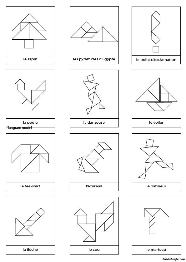 dessins en noir et blanc imprimer pour jeu tangram imprimer pinterest en noir jeu et noir. Black Bedroom Furniture Sets. Home Design Ideas