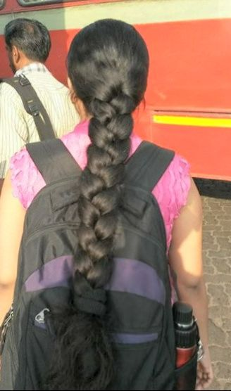 Picssr Indian Braided Hair S Most Interesting Photos Braided Hairstyles Long Hair Styles Long Hair Girl