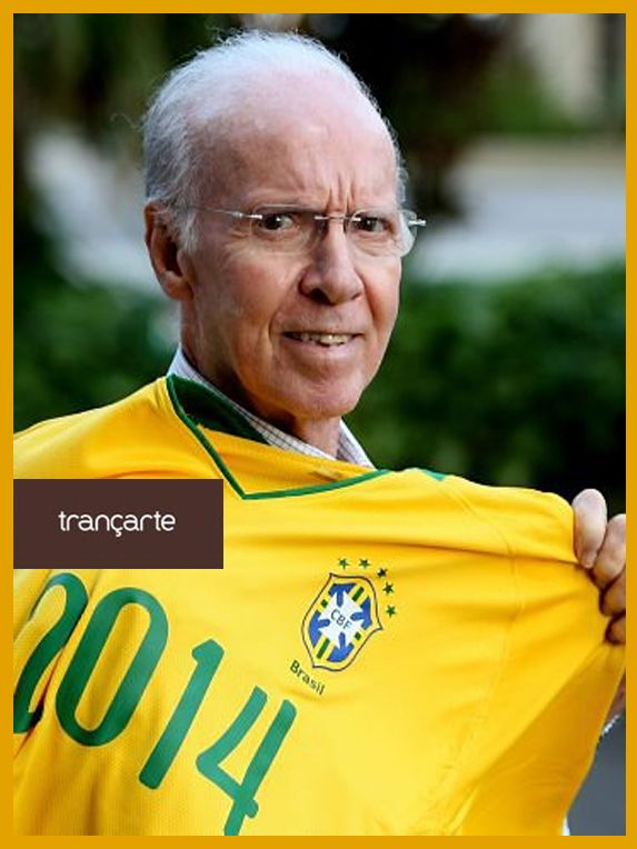 Trançarte é 10. Zagallo é 13.  Que combinação! Vai Brasil! #trançarte #brasil #vaibrasil #copadomundo #zagallo