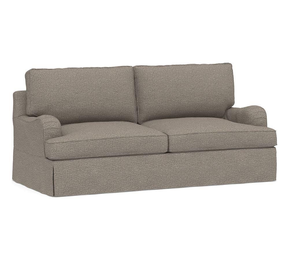Pb Comfort English Arm Slipcovered Grand Sofa 90 5 Quot Box