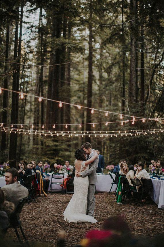 wedding in the woods nature wedding outdoor wedding